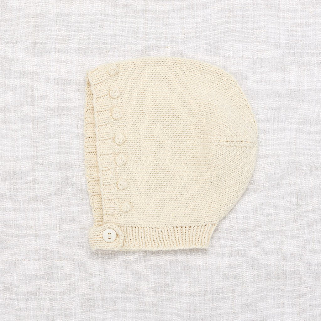Misha and Puff Linear Popcorn Bonnet - String