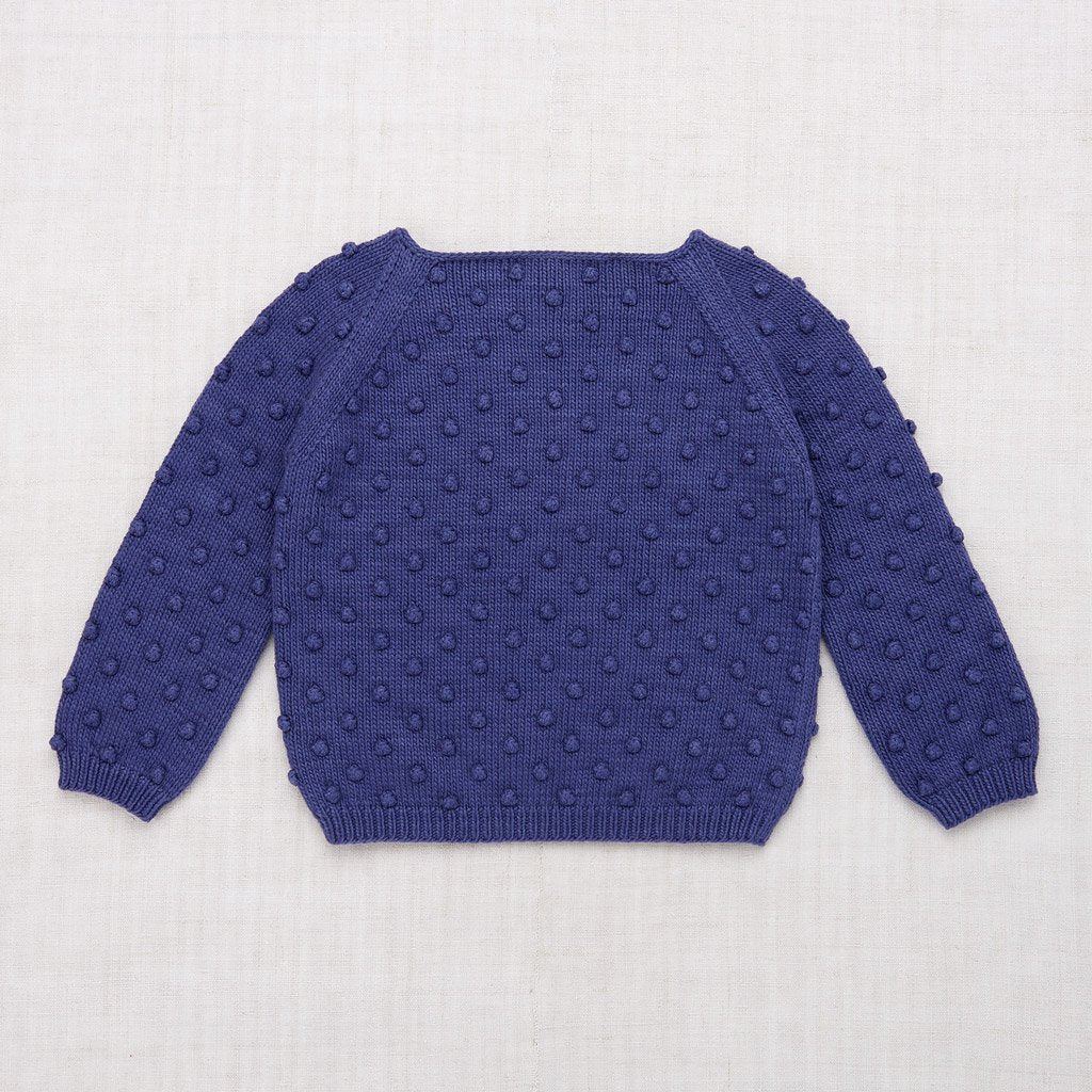 Misha and Puff Summer Popcorn Sweater - Blue Violet