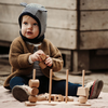 Wooden Story - Wooden Stacking Toy XL - Natural
