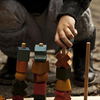 Wooden Stacking Toy - Rainbow