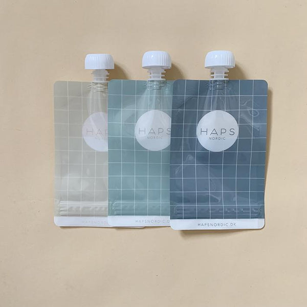 Reusable Smoothie Bag 3-Pack - Mint/Storm/Linen