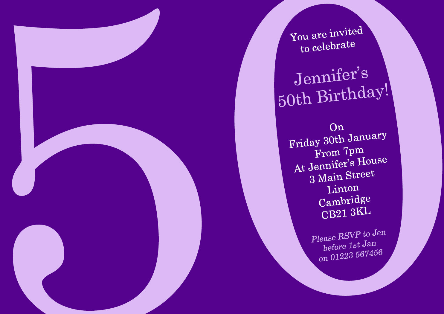 adult birthday invitations female male unisex joint party