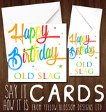 Rude Birthday Greetings Card
