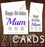 Pregnancy Announcement Scratch Card Mother's Day ~  Grandchild ~ Funny Joke Version Available