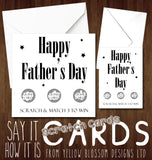 Happy Father's Dad Scratch Card