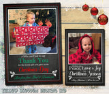 Bespoke Packs of Photo Christmas Cards Thank You Envelopes Folded