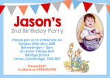 Jemima Puddle Duck Peter Rabbit Party Invitations - Boys Girls Joint Birthday Party Invites Twins Unisex Printed ~ QUANTITY DISCOUNT AVAILABLE