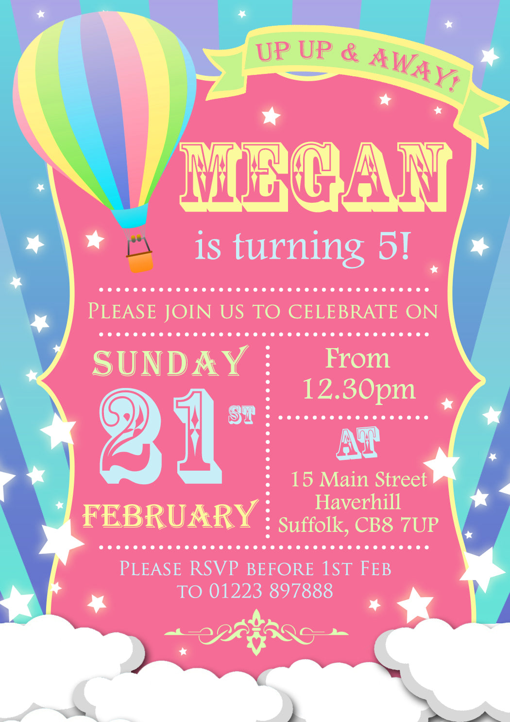 Balloon Party Invitations Image collections - Party Invitations Ideas