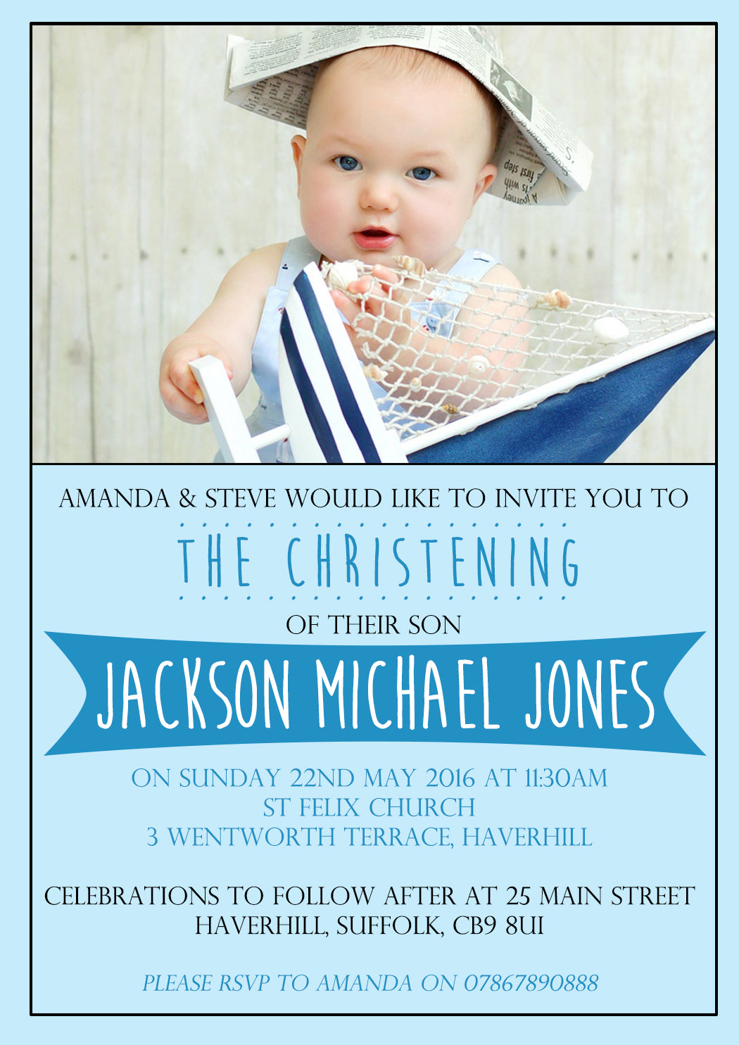 christening invitations boy girl unisex joint twins baptism naming