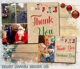 Personalised Thank You Cards Notes With Photo ~ Stocking ~ Multiple Pack Selection