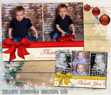 Personalised Christmas Photo Cards Montage ~ QUANTITY DISCOUNT AVAILABLE