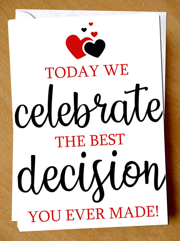 Birthday Wedding Anniversary Valentines Christmas Card Humour Love Funny Banter - YellowBlossomDesignsLtd