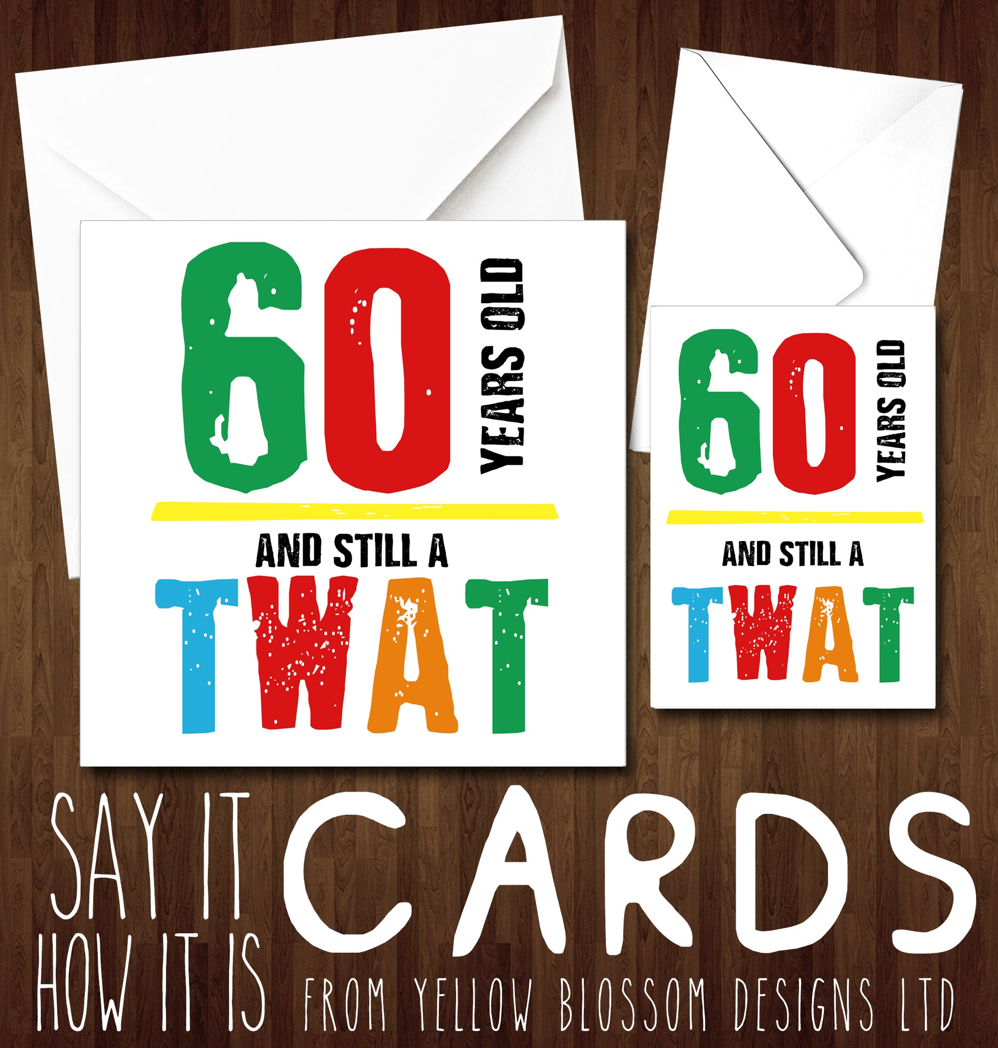 Funny 60th Birthday Greeting Cards Friend Rude Banter Comedy