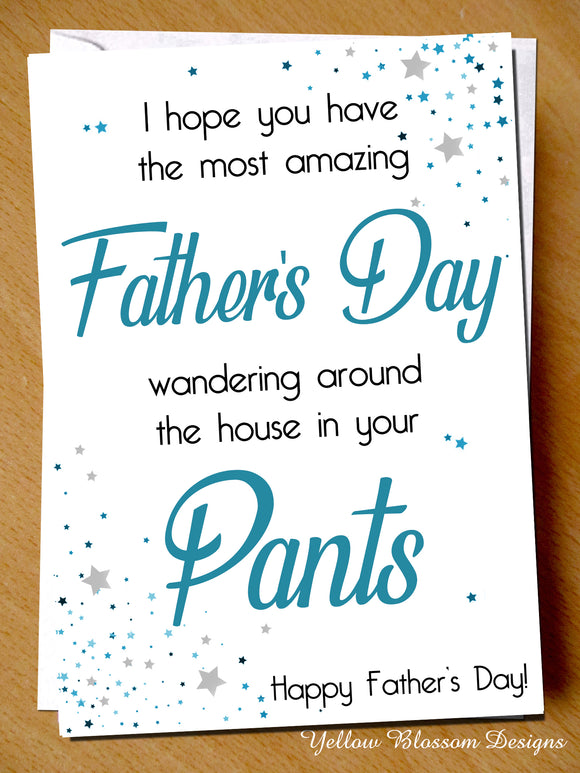 Boris Lockdown Isolation Virus Fathers Day Dad Card Joke Son Daughter Gift Funny