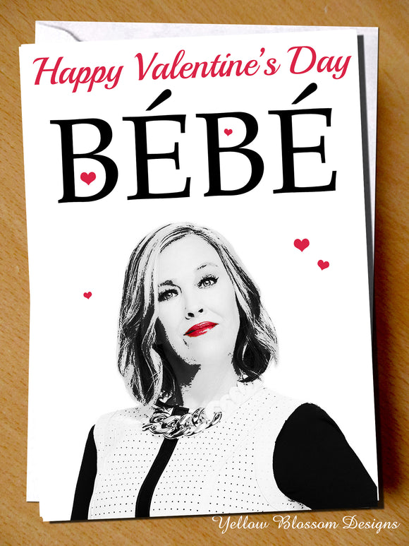 Funny Valentines Day Card Husband Wife Partner Couple Him Her Moira Rose Bebe Shitts Creek Joke Boyfriend Girlfriend Best Friend Partner Couple Fiance Him Her Woman Man …