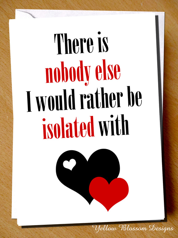 Birthday Card Love Isolated With You Husband Boyfriend Sister Mum Dad Brother