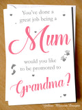 You've Done A Great Job Being A Mum ~ Promoted To Nanny ~ Pregnancy Announcement
