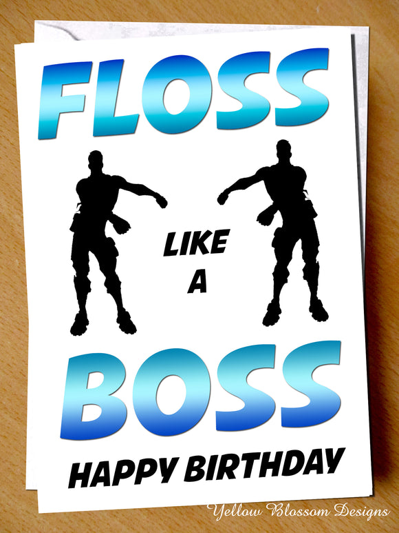 Floss Like A Boss ~ Fortnite Gaming