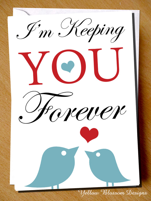 I'm Keeping You Forever