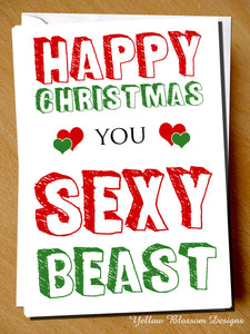 Happy Christmas You Sexy Beast