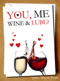 You, Me, Wine & Lube?