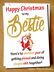 Happy Christmas To My Bestie