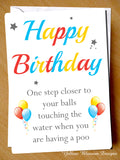 Happy Birthday Male Greetings Card
