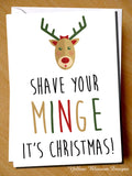 Shave Your Minge It's Christmas!