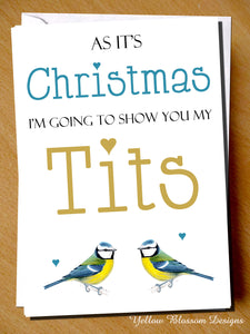 As It's Christmas I Will Show You My Tits
