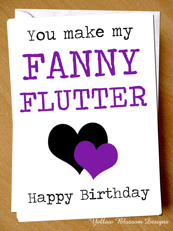 You Make My Fanny Flutter