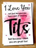 I Love You Not Just Because You Have Pair of Amazing Tits