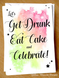 Funny Birthday / Congratulations Greetings Card