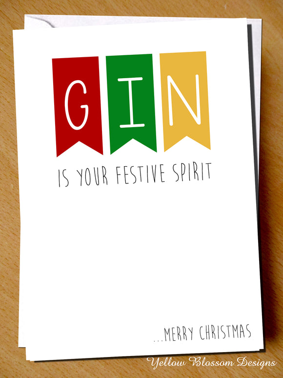 Gin If Your Festive Spirit... Merry Christmas