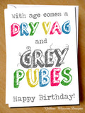 Dry Vag And Grey Pubes