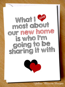 What I Love Most About Our New Home Is Who I'm Going To Be Sharing It With