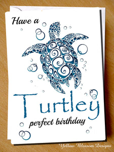 Have A Turtley Perfect Birthday