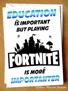 Fortnite Card