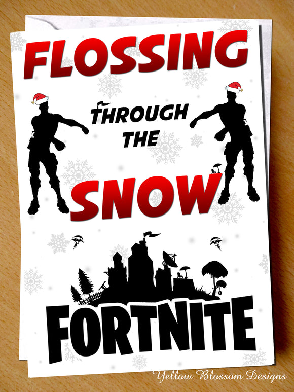Flossing Through The Snow Fortnite