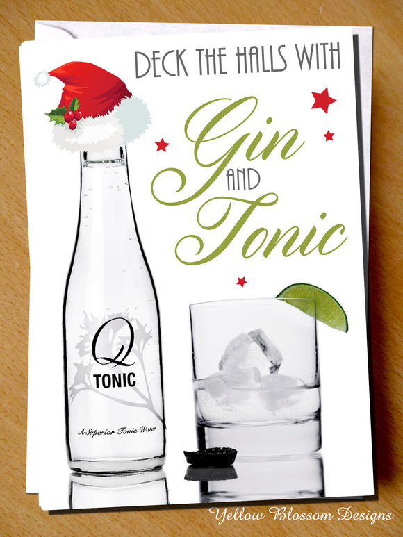 Deck The Halls With Gin & Tonic
