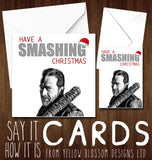 Have A Smashing Christmas ~ The Walking Dead ~ Negan ~ Lucille