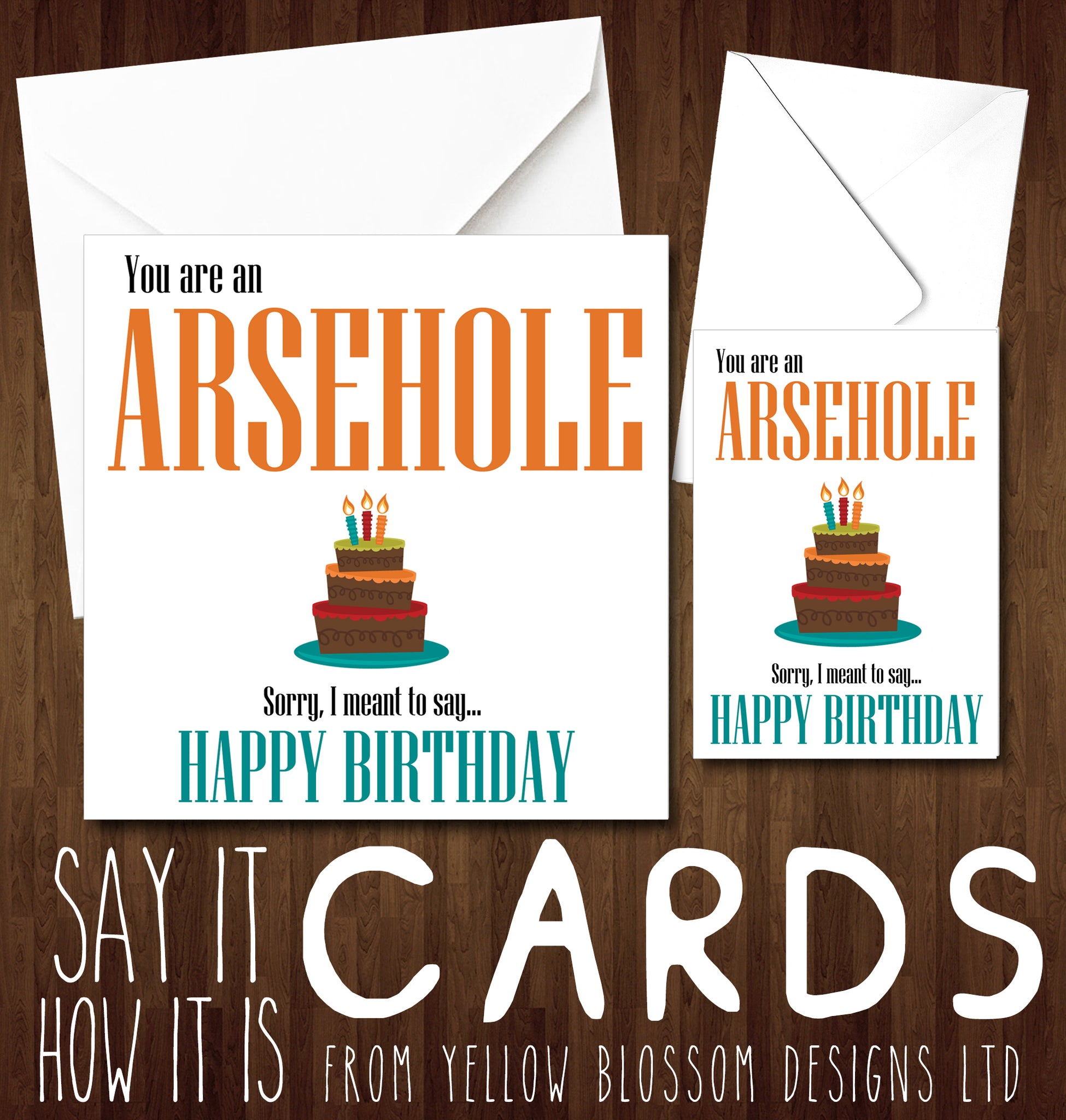Insult Birthday Card Funny Rude Insulting Dad Brother Husband