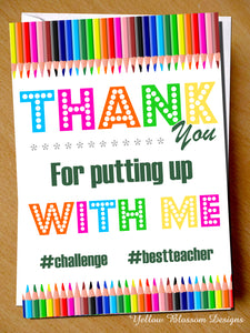 #challenge #bestteacher Greetings Card