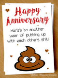 Funny Anniversary Card