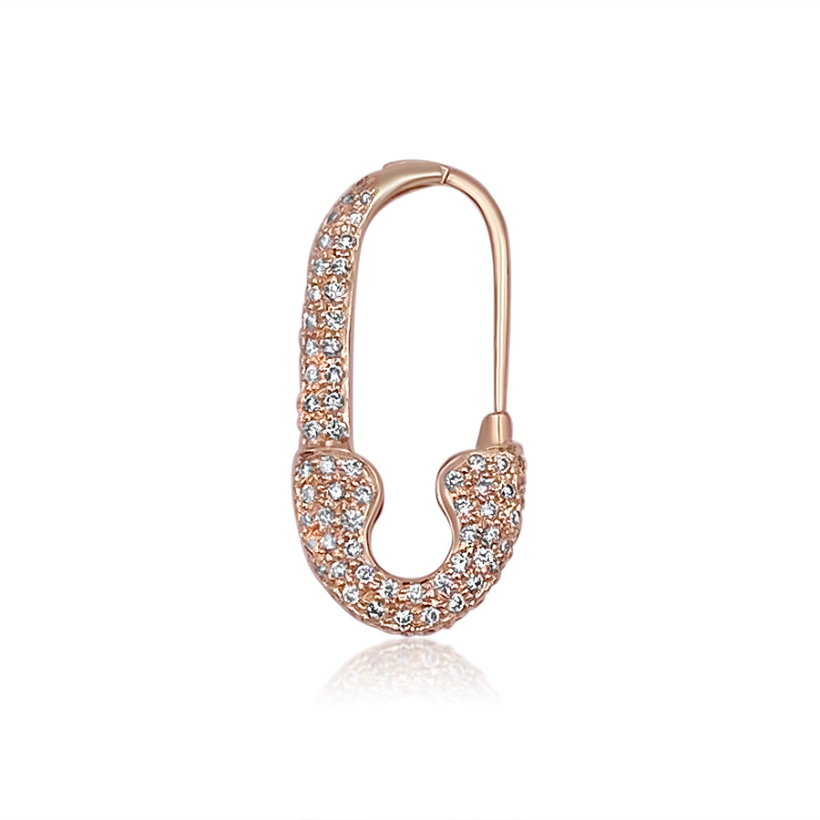 New Diamond Joint Safety Pin ™ Rose Gold