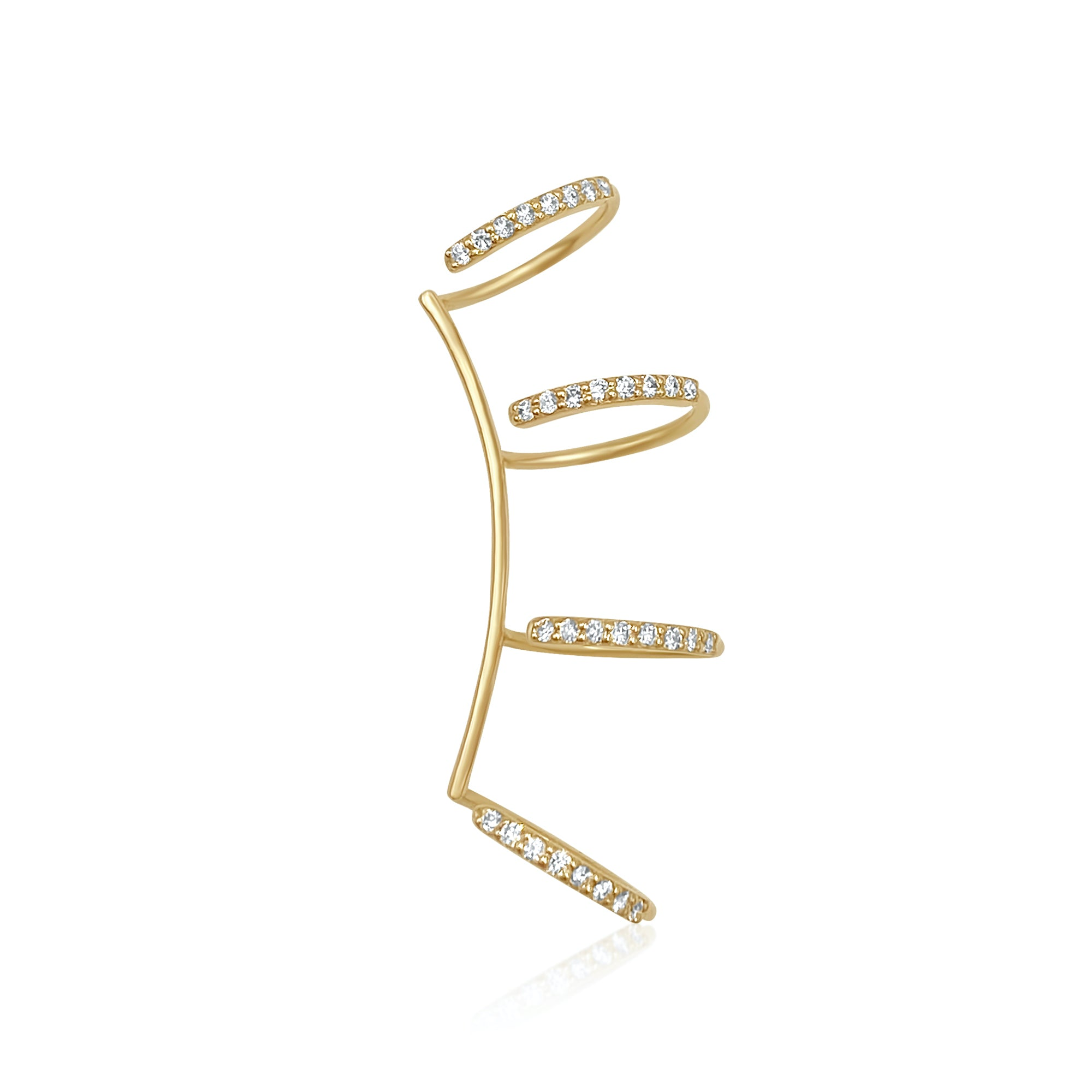 XL Diamond Ear Cuff