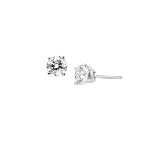 Diamond Stud Earring L