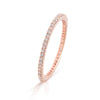 Lajoux Eternity Diamond Ring Rose Gold