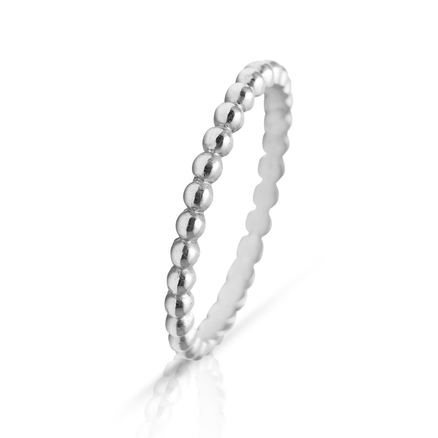 Lajoux Marble Ring White Gold