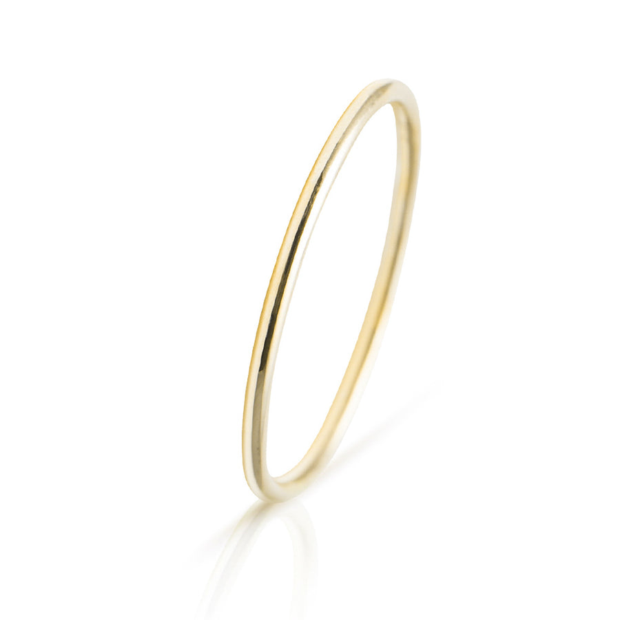 Lajoux Promise Ring Yellow Gold