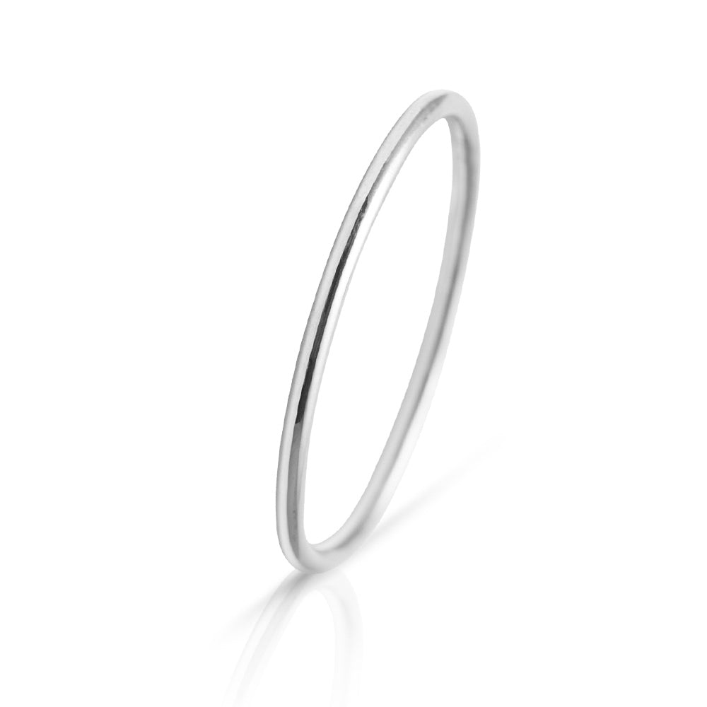 Lajoux Promise Ring White Gold
